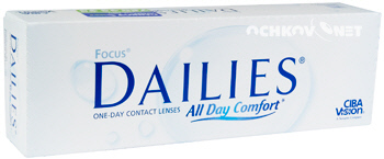FOCUS®  FOCUS DAILIES ALL DAY COMFORT